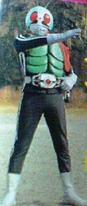 Kamen Rider Decade use Kamen Ride 1