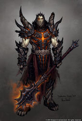 Deathwing human form by arsenal21-d3ezv3v