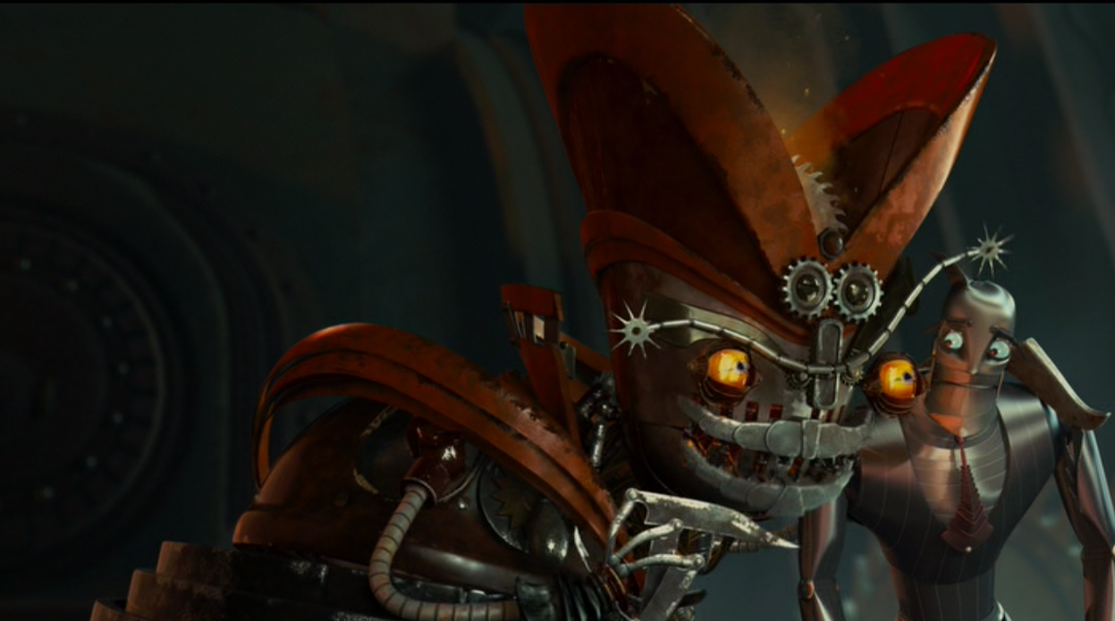 Robots evil movie characters
