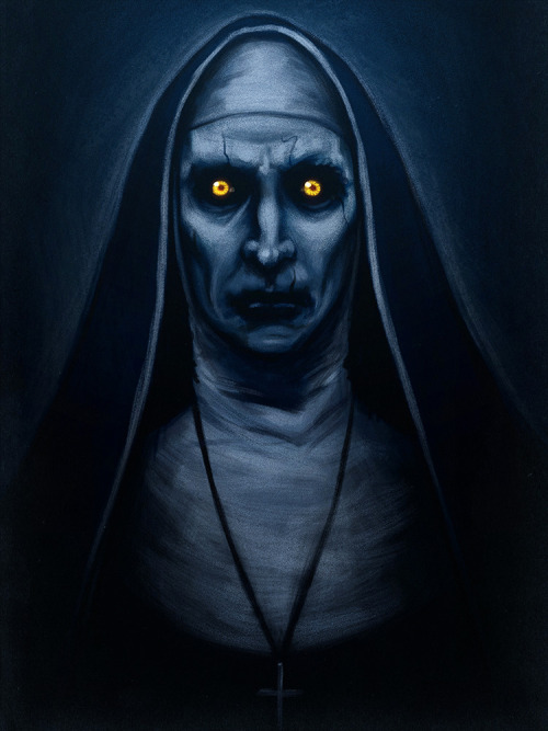 Image result for the nun demon from the conjuring 2