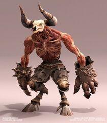 Hades Minotaur (Armorless)