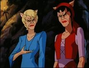 Lena and simone partially transformed