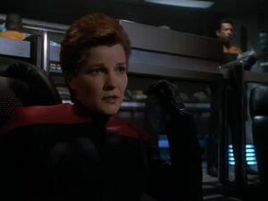 Evil Janeway - Living Witness