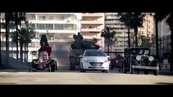 Funny Peugeot 208 Wacky Races TV Commercial 2013 Ad includes Ant Hill Mob Dick Dastardly and Muttley