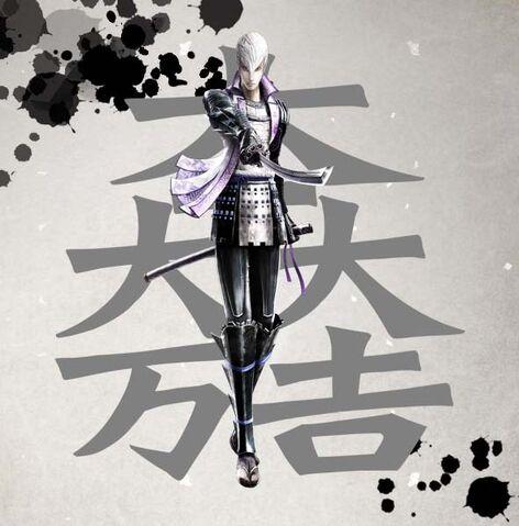 File:Sengoku Basara 4 Mitsunari Ishida.jpg