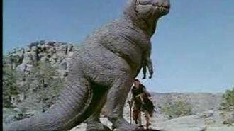 Blind caveman vs. t-rex
