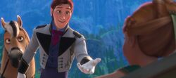 Hans meeting Anna