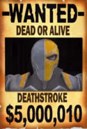 Deathstroke Wanted Poster