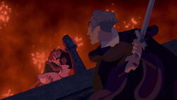 Judge Frollo Found Quasimodo & Esmeralda