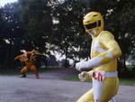 Grumble Bee with Yellow Ranger