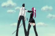 Riruka points the Love Gun