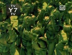 The Piranhatron Army