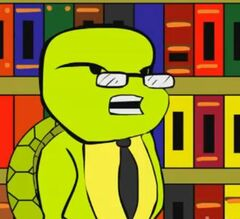 Johnson (as a turtle)