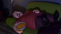 Al McWhiggin Sleeping