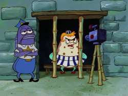 SpongeBob SquarePants Mrs. Puff in Jail