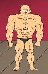Dale's true physique