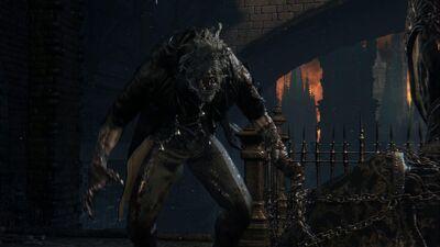 Gascoigne Bloodborne Beast