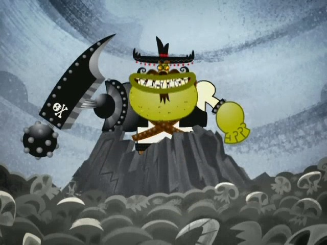 Brown Cartoon Monster