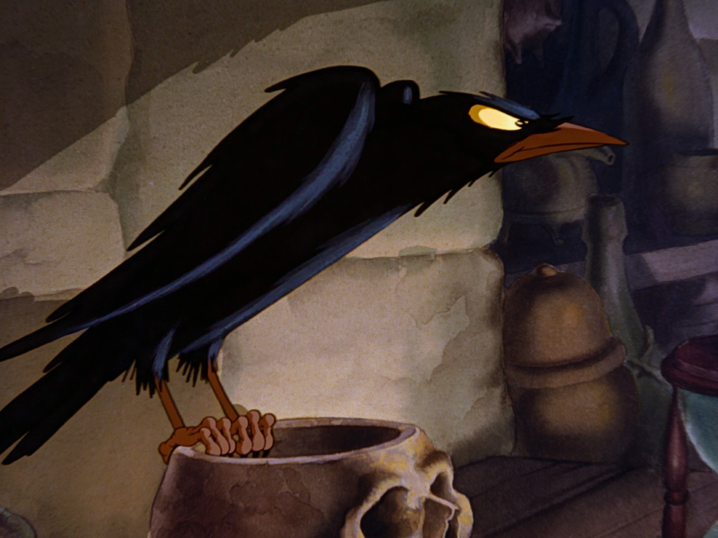 Three black crows disney