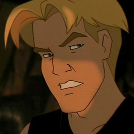 Adult Cale Tucker from Fox Animations Titan A.E