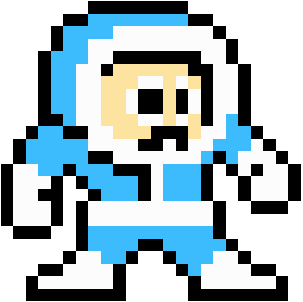 File Iceman Megaman 1 Sprite Standing Right on legend of zelda gohma