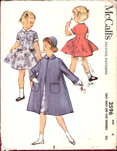 Mccalls-girls-dress-and-coa