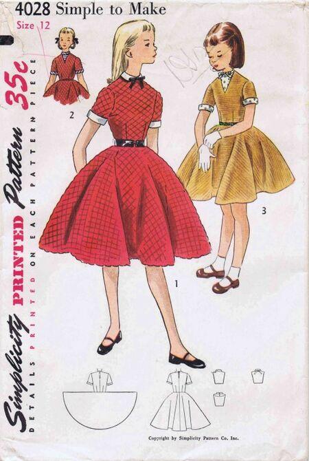 Simplicity 1952 4028