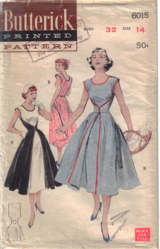 Butterick 6015 | Vintage Sewing Patterns | Fandom powered by Wikia