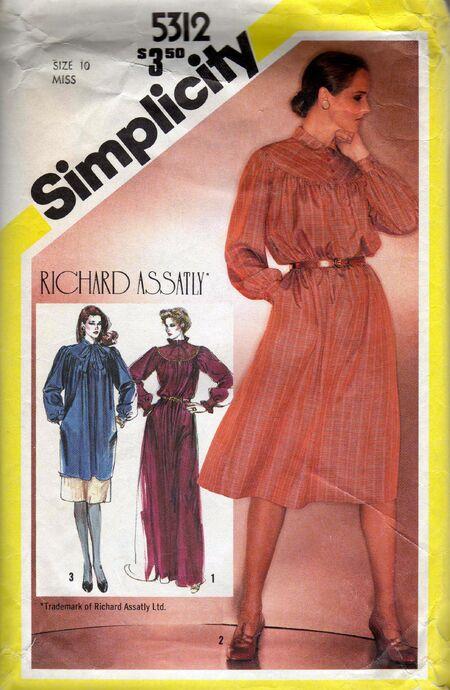Simplicity 5312A