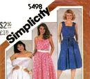 Simplicity 5498 A