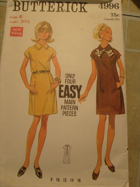 Butterick 4996 image