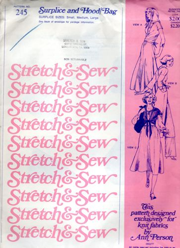 Stretch & Sew 245 2