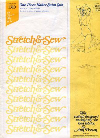 Stretch&sew1310halter
