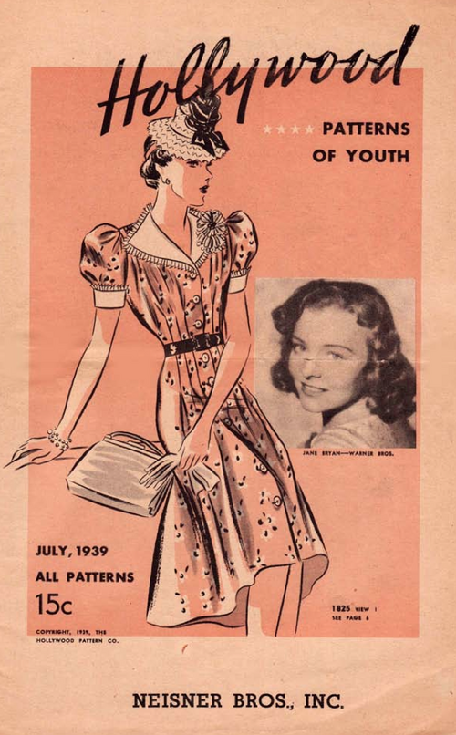 Hollywood Patterns July 1939