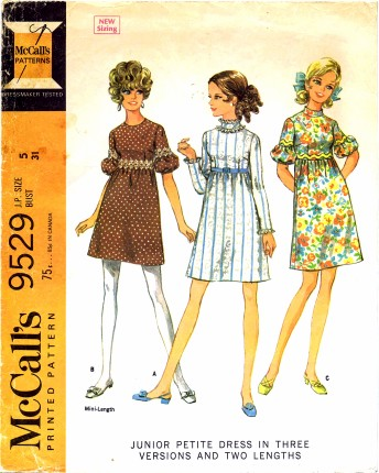 McCalls 1968 9529