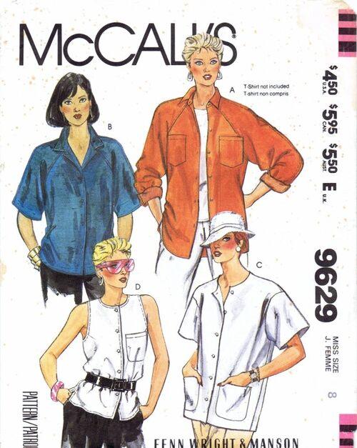 McCalls 1985 9629