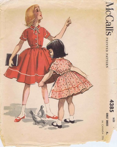 McCalls 1957 4385