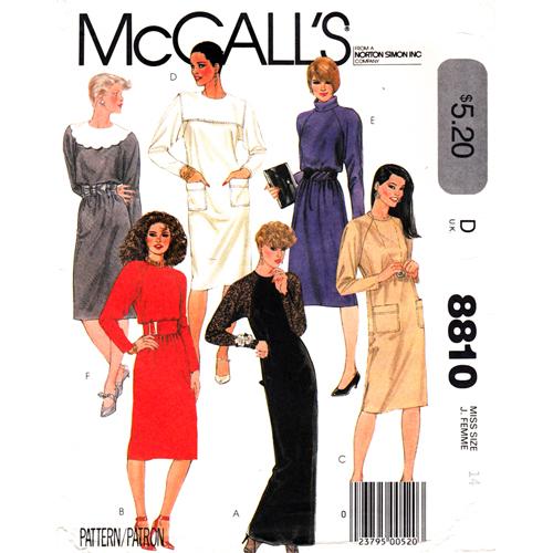 Mccalls 8810