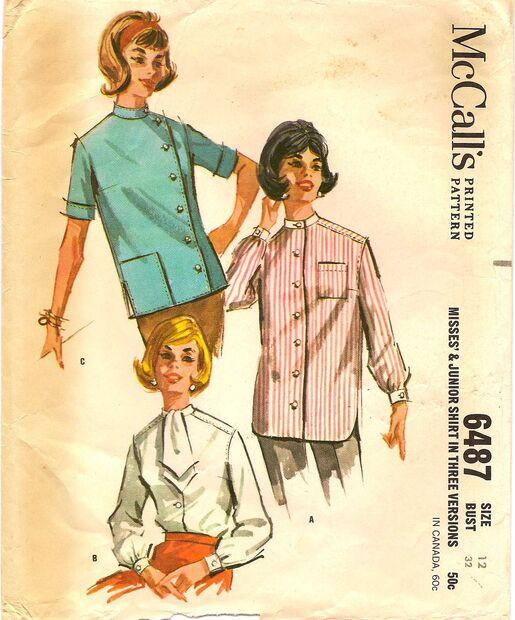 McCalls6487 1960s