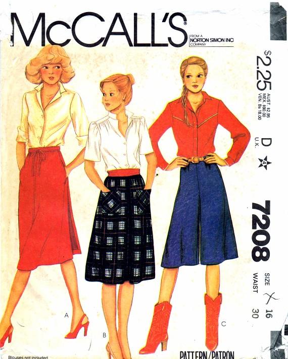 McCalls 1980 7208