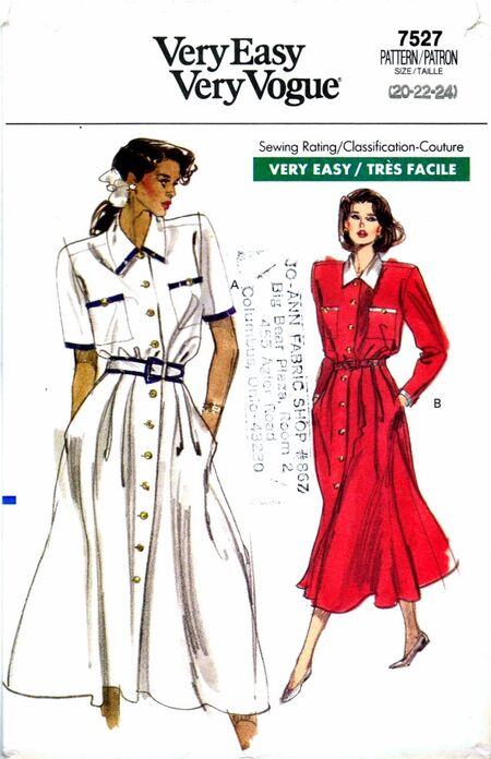 Vogue 1989 7527