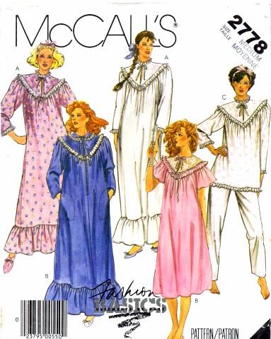 McCalls 1986 2778