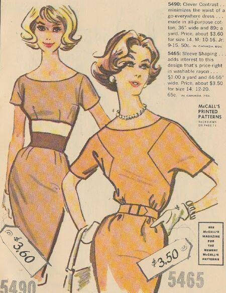 McCall's 5465 Catalog