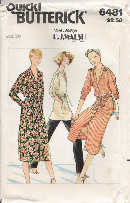 Butterick 6481 image1