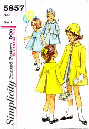 Simplicity 1964 5857