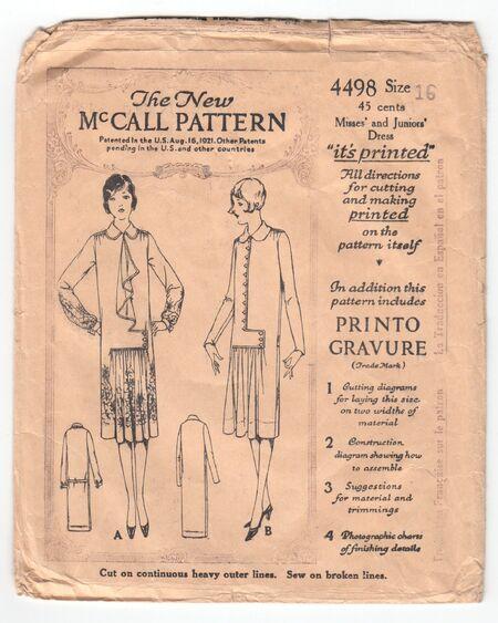 McCall 4498
