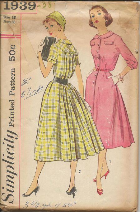 Sim 1939 1950s