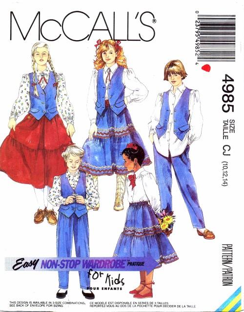 McCalls 1990 4985