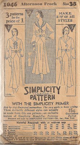 Simplicity 1046