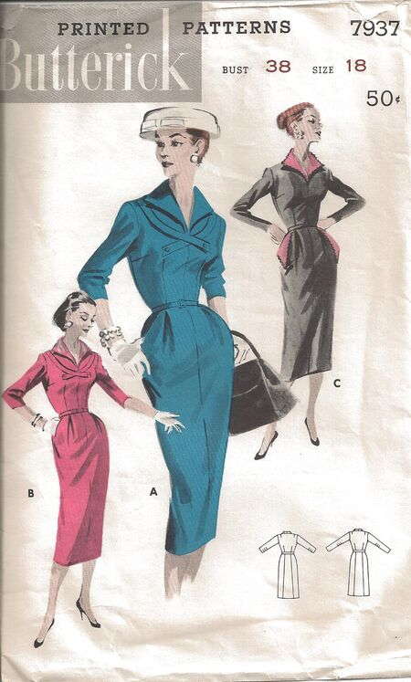 Butterick Patter 7937 Front